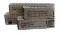 Комплект тонеров Xerox WC 7425/7428/7435 CMYK (006R01399-006R01401)