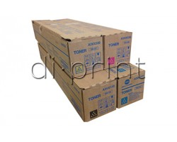 Комплект тонеров TN619 Konica Minolta bizhub C1060/C1070 (CMYK)