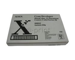 Девелопер Xerox DC 12/50 синий (developer cyan) (005R90242)