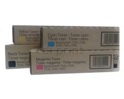 Комплект тонеров Xerox WC 7830/7835/7845/ 7855/7970 CMYK (006R01517-006R01520)