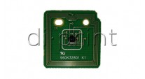Чип для Тонера Xerox Color 550/560/570 cyan