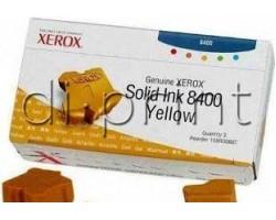 Твердые чернила желтые Xerox Phaser 8400/8500 (108R00607)
