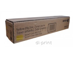 Тонер Xerox Color 800/1000 желтый (yellow) (006R01483, 006R01473)