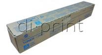 Тонер синий (cyan) Konica Minolta bizhub Press C454/C554 (A33K432) TN-512C